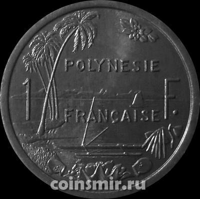 1 франк 2003 Французская Полинезия.