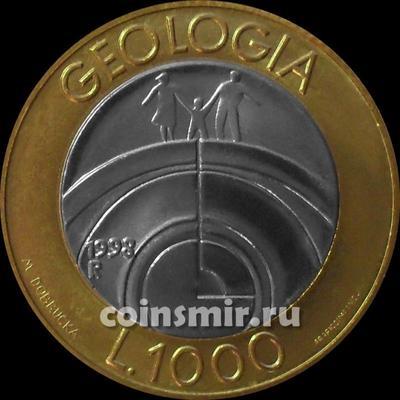 1000 лир 1998 Сан-Марино. Геология.