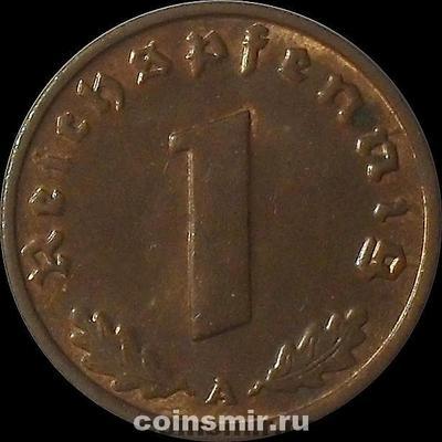 1 пфенниг 1937 А Германия.