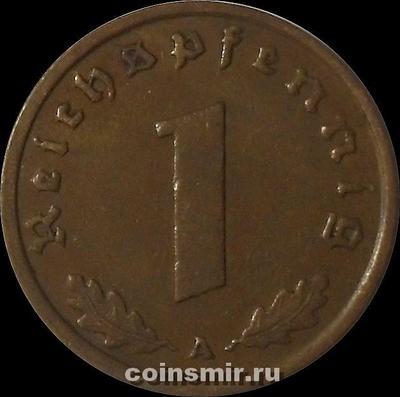1 пфенниг 1938 А Германия.