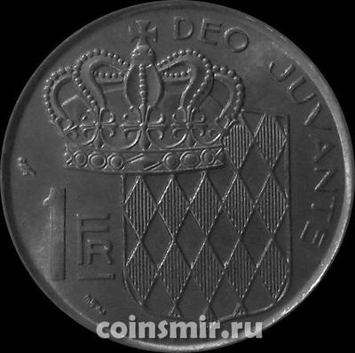 1 франк 1966 Монако.
