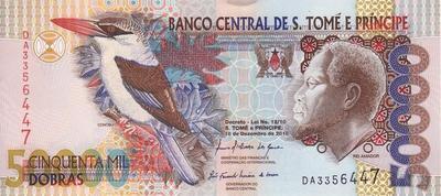 50000 добр 2010 Сан-Томе и Принсипи.