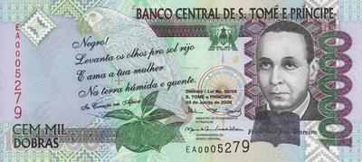 100000 добр 2005 Сан-Томе и Принсипи. (в наличии 2013 год)