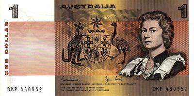 1 доллар 1974-1983 Австралия.