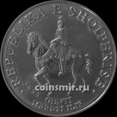 50 лек 2000 Албания. UNC.