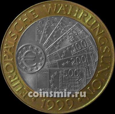 50 шиллингов 1999 Австрия. Евро.