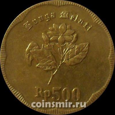 500 рупий 1991 Индонезия.