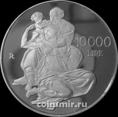 10000 лир 2000 Сан-Марино. Микеланджело.
