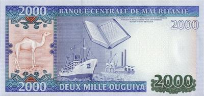 2000 угий 2013 Мавритания.