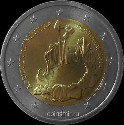 2 евро 2014 Португалия. Фермерские хозяйства.