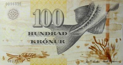 100 крон 2011 Фарерские острова.