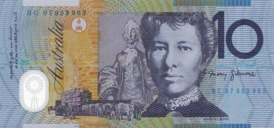 10 долларов 2002-2008 Австралия.