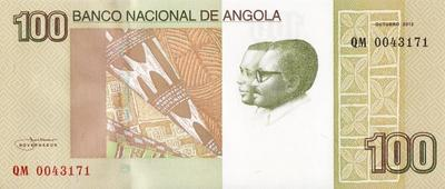 100 кванз 2012 Ангола.
