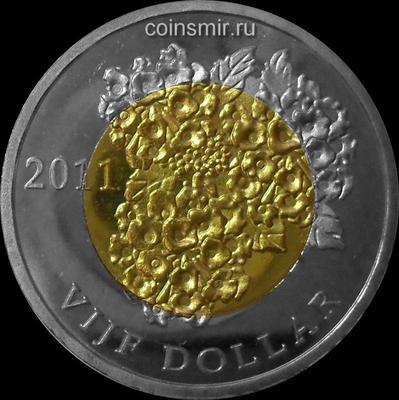 5 долларов 2011 остров Бонэйр.