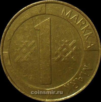 1 марка 1994 М Финляндия. (в наличии 1995 год)