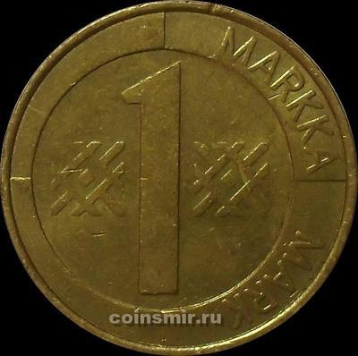 1 марка 1993 М Финляндия.