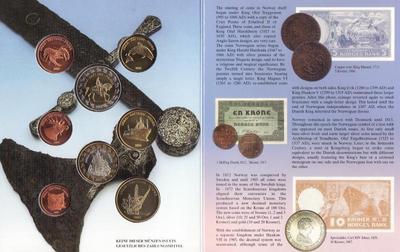 Набор евро монет 2004 Норвегия. Проба. Буклет.