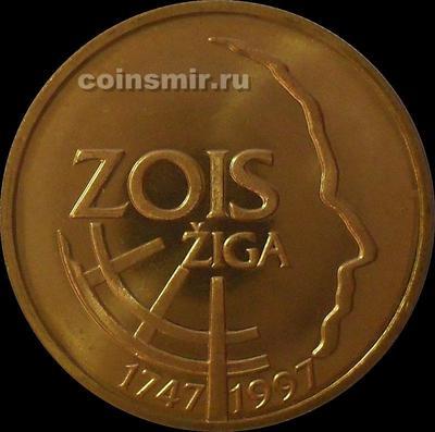 5 толаров 1997 Словения. Зигмунд Зоис.