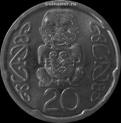 20 центов 2006 Новая Зеландия.