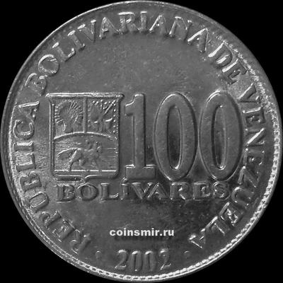 100 боливаров 2002 Венесуэла.