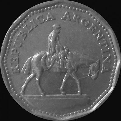 10 песо 1963 Аргентина.