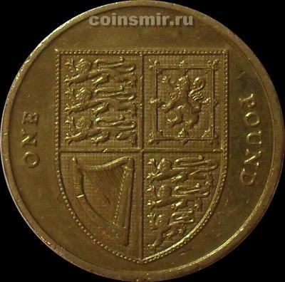 1 фунт 2010 Великобритания.