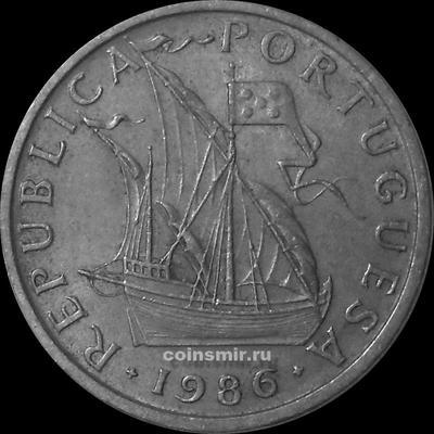 5 эскудо 1986 Португалия.