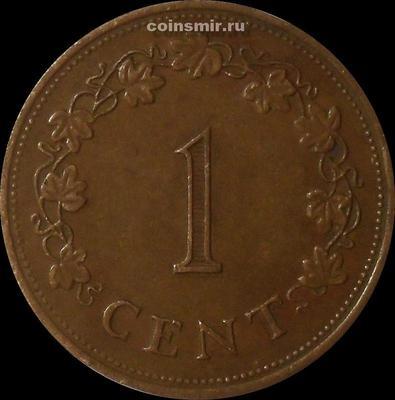 1 цент 1977 Мальта.