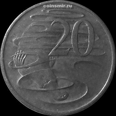 20 центов 2006 Австралия. Утконос.