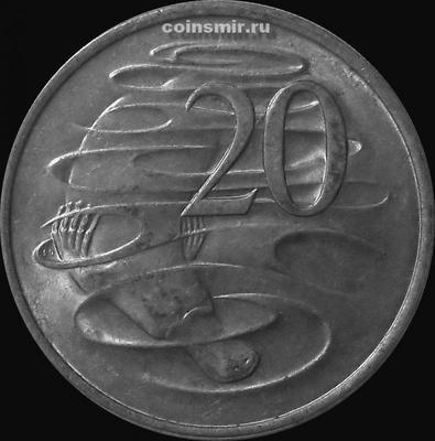 20 центов 1982 Австралия. Утконос.