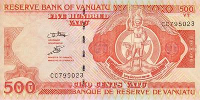 500 вату 2002-10 Вануату.