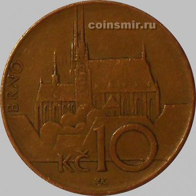 10 крон 2003 Чехия.