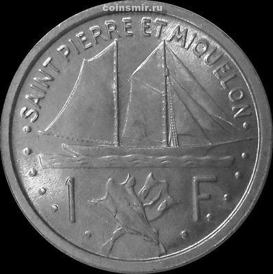 1 франк 1948 Сен-Пьер и Микелон.