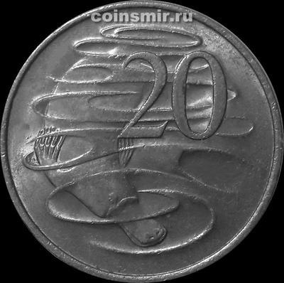 20 центов 1981 Австралия. Утконос.