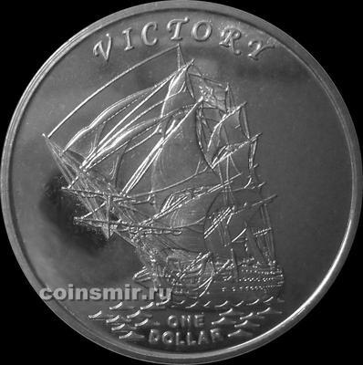 1 доллар 2014 острова Гилберта. Виктори.