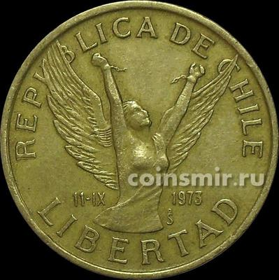 10 песо 1981 Чили.