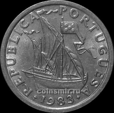 2,5 эскудо 1983 Португалия.