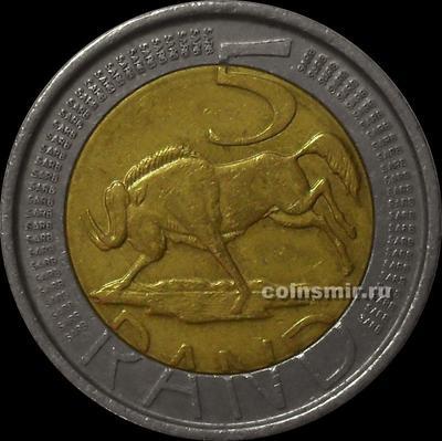 5 рандов 2004 Южная Африка (ЮАР).