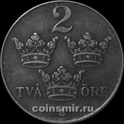 2 эре 1949 Швеция.