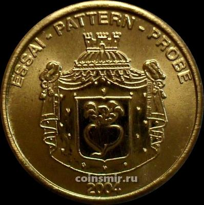 10 евроцентов 2004 Лихтенштейн. Европроба. Ceros.