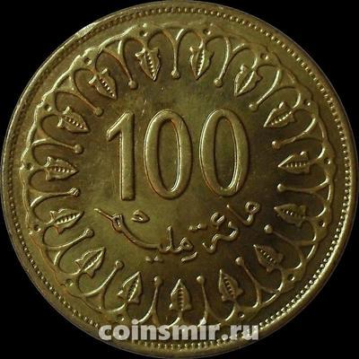 100 миллим 2011 Тунис.