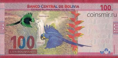 100 боливиано 2018 Боливия.