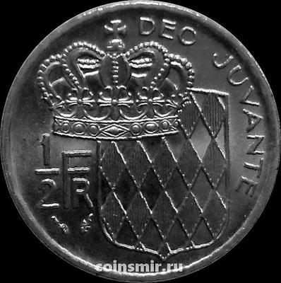 1/2 франка 1976 Монако.