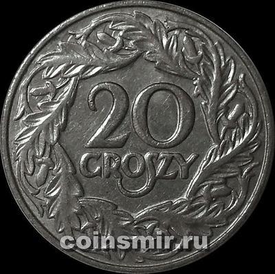 20 грошей 1923 Польша.