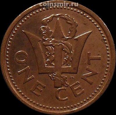 1 цент 2002 Барбадос.