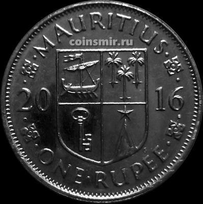 1 рупия 2016 Маврикий.