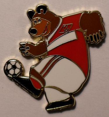 Значок Спартак Москва. Медведь.