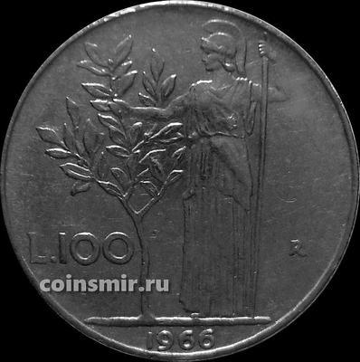 100 лир 1966 Италия. Состояние на фото.