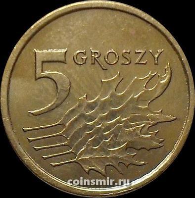 5 грошей 2012 Польша.