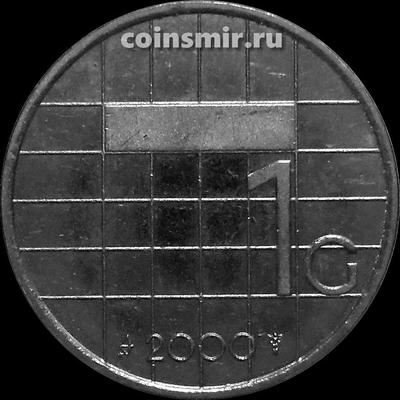 1 гульден 2000 Нидерланды.